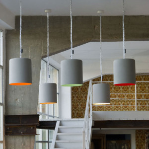 In-es.artdesign - Bin - Bin Cemento - Lampada a sospensione