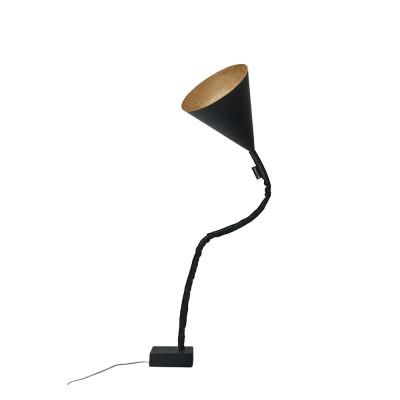 In-es.artdesign - Flower - Flower Lavagna - Piantana - Nero / bronzo - LS-IN-ES070015N-BR
