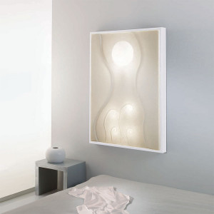 In-es.artdesign - Lunar - Lunar dance 1 - Quadro luce