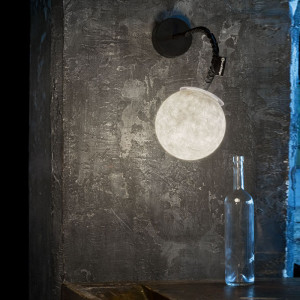 In-es.artdesign - Micro Luna - Micro Luna Applique - Lampada da parete