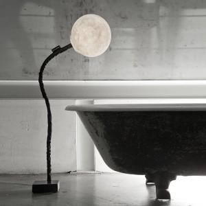 In-es.artdesign - Micro Luna - Micro Luna Piantana - Lampada da salone