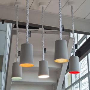 In-es.artdesign - Paint - Paint Cemento - Lampada a sospensione
