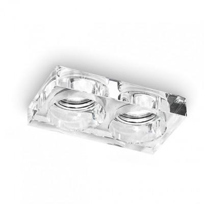 Linea Light - Incasso - Faretto da incasso Incas a due luci - Trasparente - LS-LL-6361