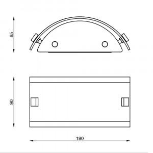 Linea Light - Mille - Mille LED AP XS - Applique versatile