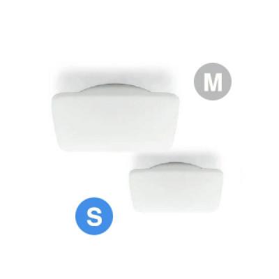Linea Light - My White - My White S PL square - Lampada quadrata