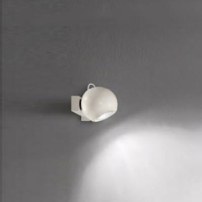 Linea Light - Pelota - Applique una luce Pelota - Bianco - LS-LL-7145