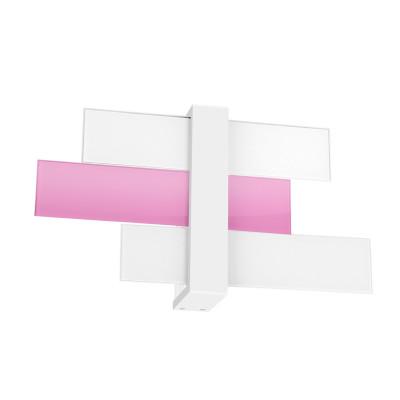 Linea Light - Triad - Triad - Applique tre vetri M - Lilla - LS-LL-90223