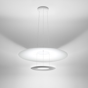 Ma&De - Madame Blanche - Madame Blanche P1 SP LED - Lampadario moderno a luce LED orientabile