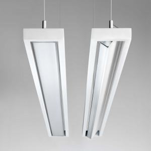 Ma&De - Tablet LED - Tablet P1 SP LED - Lampada sospensione orientabile in policarbonato a LED