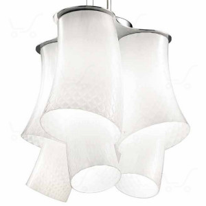 Vistosi - Assiba - Assiba SP6 - Lampada a sospensione 3 luci