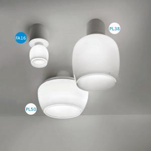 Vistosi - Implode - Implode FA16 - Faretto soffitto/parete